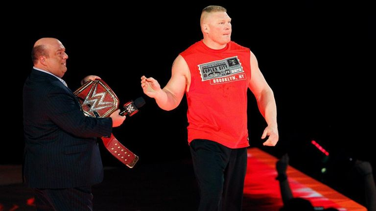 Brock Lesnar no-showed last week's episode of Raw