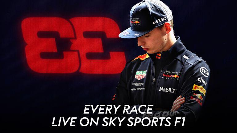 Every race live on Sky Sports F1