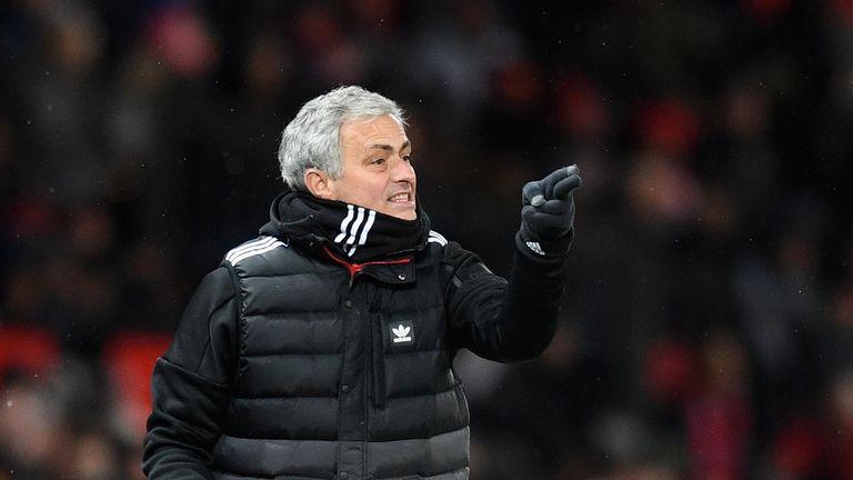 Jose  Mourinho - Man Utd v Brighton, FA Cup