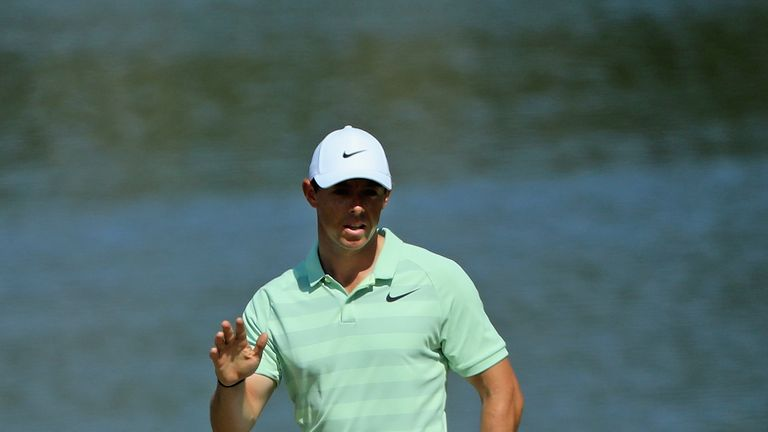 Rory McIlroy during the final round at the Arnold Palmer Invitational