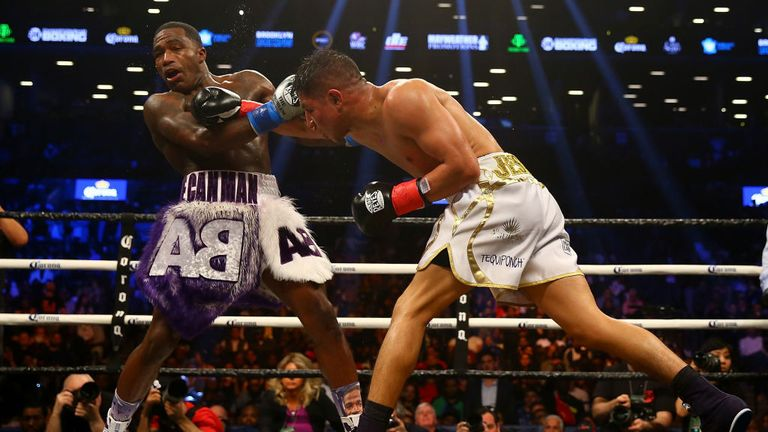 Jessie Vargas made a positive start at the Barclays Center