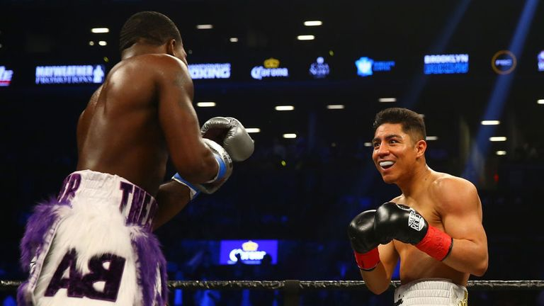 Vargas remained positive from start to finish