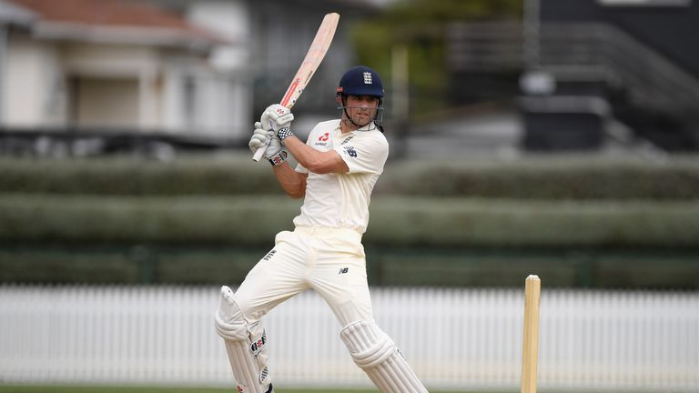 Cook had struggled with the bat since hitting 244no in Melbourne during the Ashes