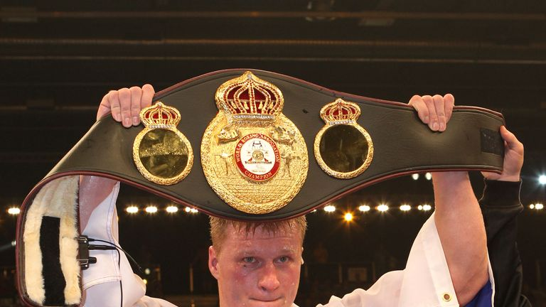 Povetkin is mandatory challenger to the WBA belt