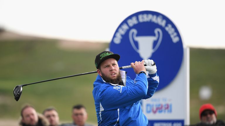 Andrew Johnston made a good start to the defence of his title