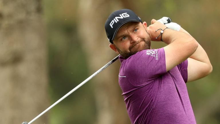 Andy Sullivan is only four off the lead after 54 holes
