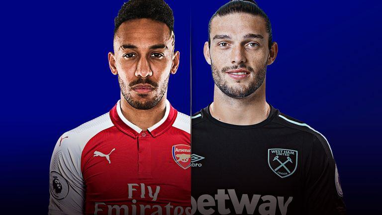 Arsenal V West Ham United Live On Sky Sports