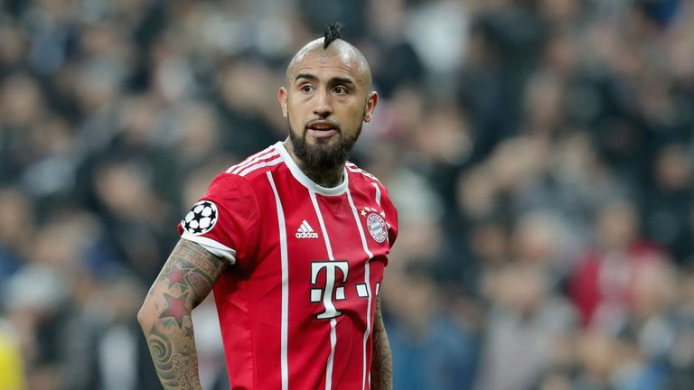 Arturo Vidal has been ruled out for the rest of the season