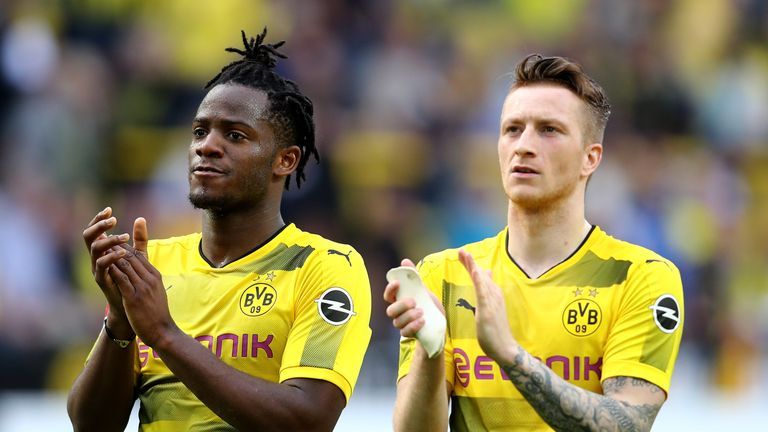 Dortmund finished fourth on goal difference to secure Champions League qualification