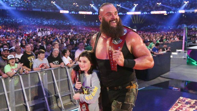 Braun Strowman was briefly a tag-team champion two months ago