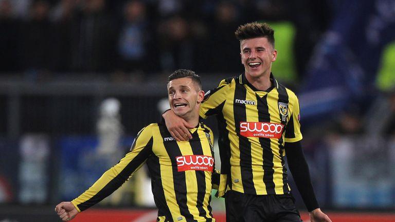 Bryan Linssen scored twice for Vitesse