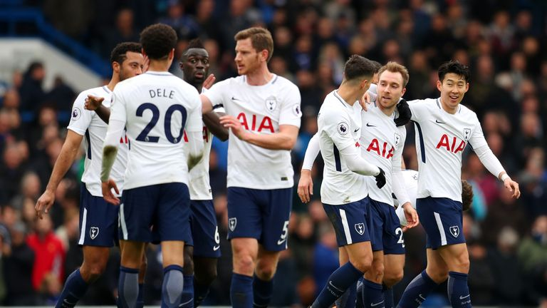 Tottenham beat Chelsea at Stamford Bridge for the first time since 1990
