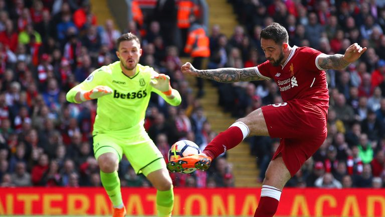 Danny Ings had a goal ruled out for offside