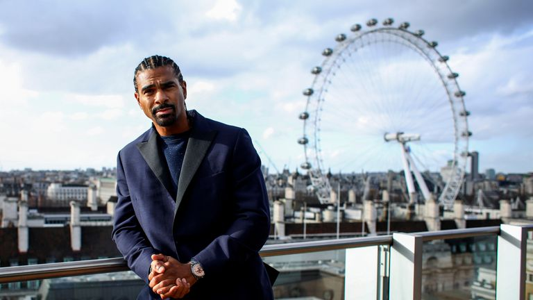 David Haye sends warning to Tony Bellew ahead of rematch