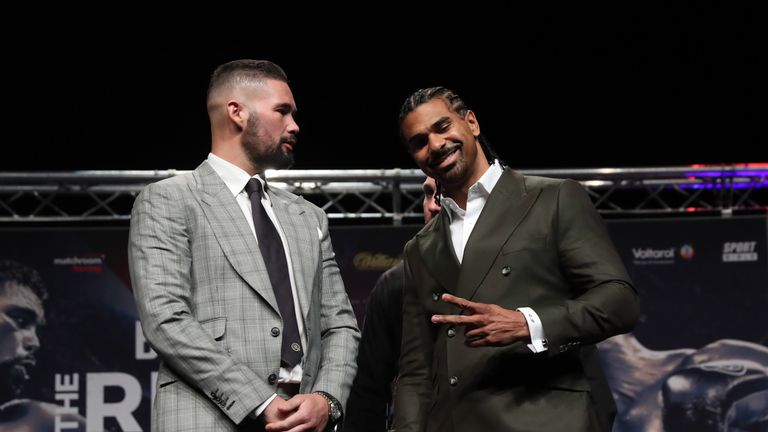 Tony Bellew and David Haye will meet again at The O2