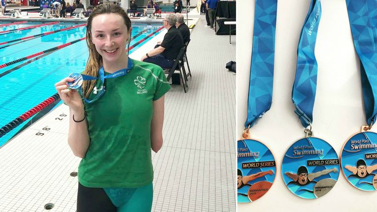 Ellen Keane in great spirits and form ahead of a busy summer in the pool