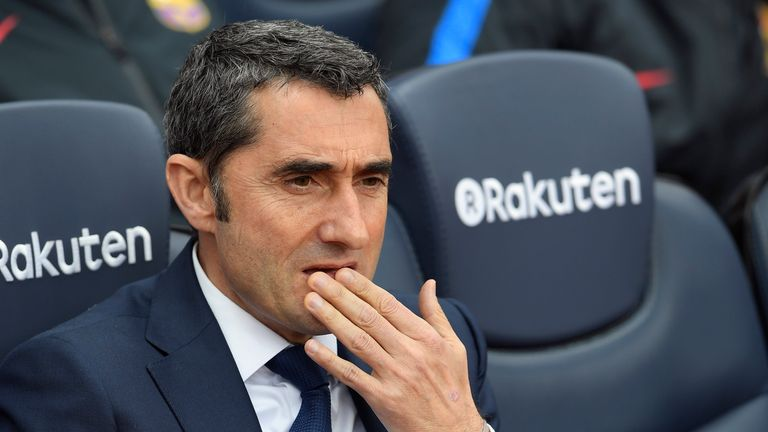 Ernesto Valverde is prepared to make changes for the trip to Celta Vigo