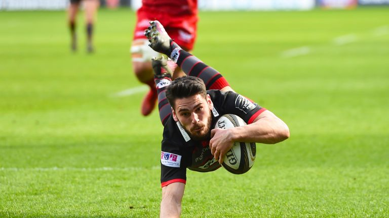 Sam Hidalgo-Clyne was hugely impressive for Edinburgh at Murrayfield