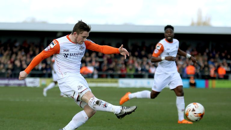 Marriott says his career was revived during his two years at Luton