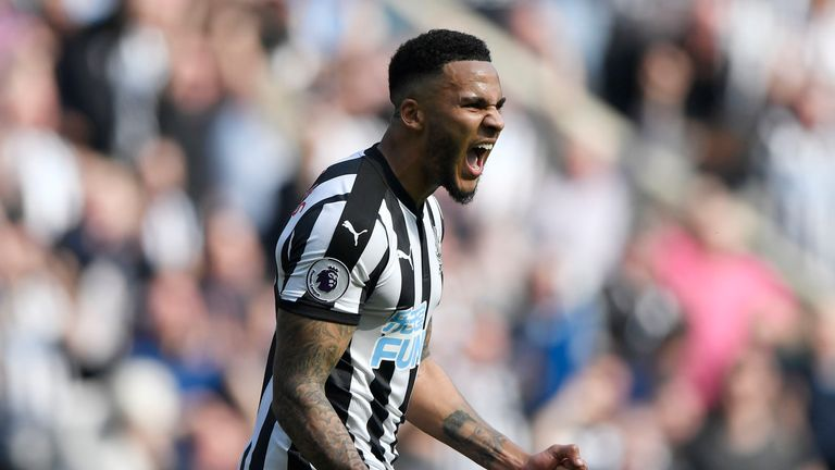 Jamaal Lascelles has returned to Newcastle for pre-season