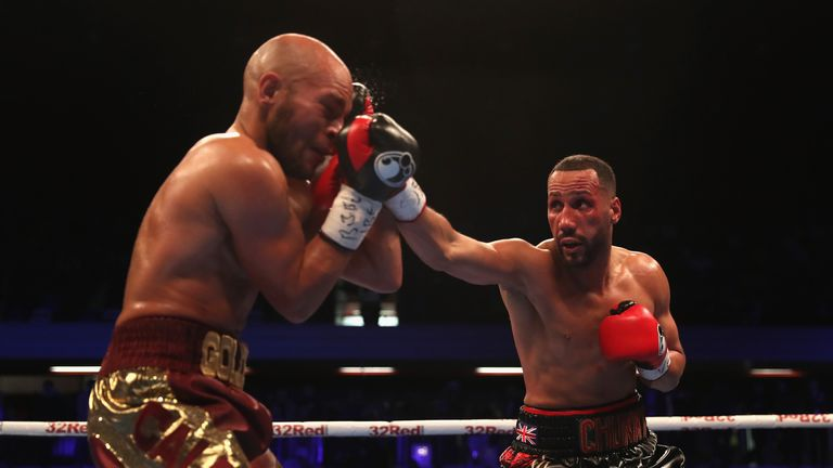 James DeGale regained the IBF super-middleweight title