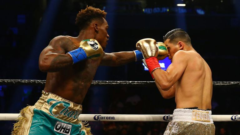 Jermall Charlo's jab set up his brutal finish at the start of the second
