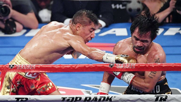 Vargas lost to Pacquiao but is yet to be stopped