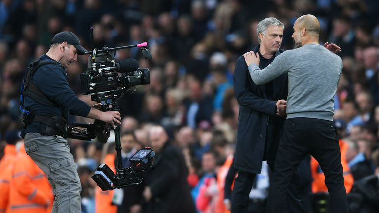 Jose Mourinho says Manchester City have been 'impossible' to match this season