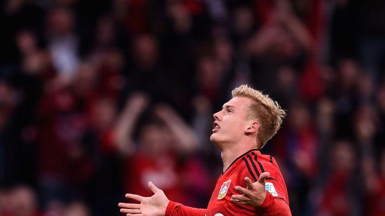 Julian Brandt has committed himself to Bayer Leverkusen until 2021