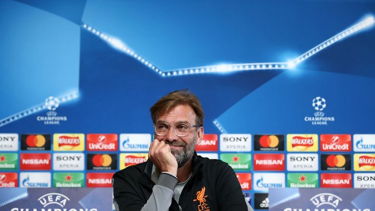 Jurgen Klopp is thrilled with Liverpool's away Champions League performances