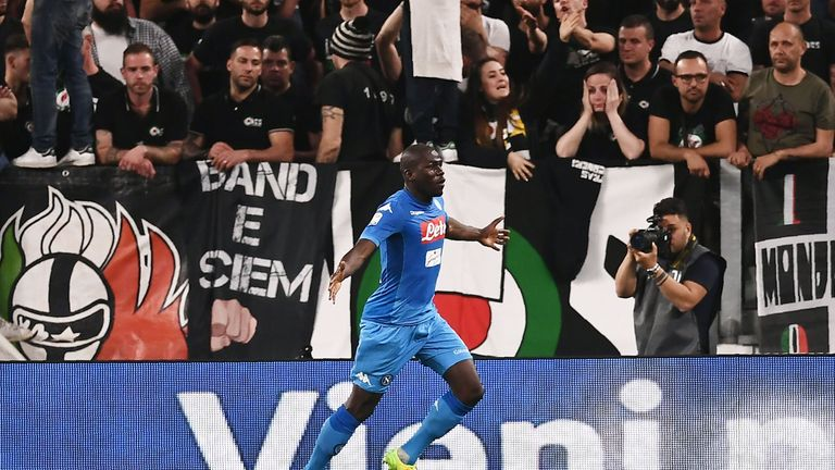 Kalidou Koulibaly has been linked with a move to Chelsea