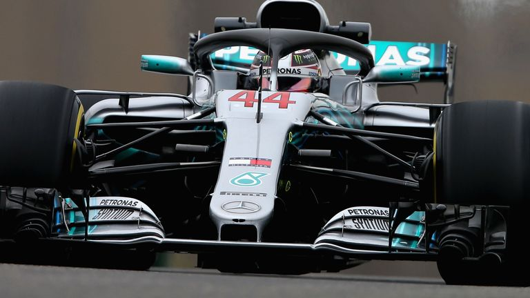 Hertfordshire's Lewis Hamilton dominates first Chinese F1 Grand Prix practice
