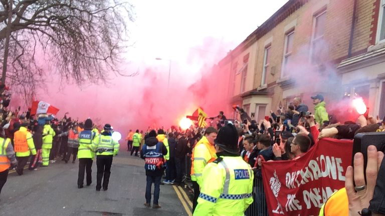 Champions League: Manchester City team bus attacked by Liverpool fans outside Anfield