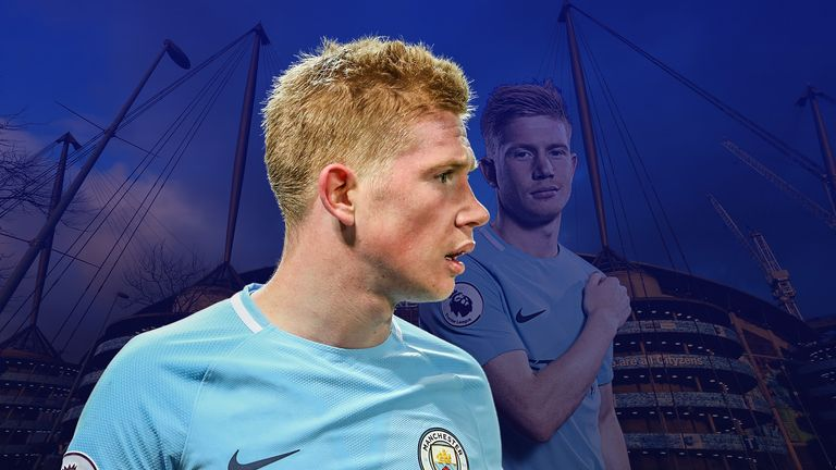 Kevin De Bruyne has been outstanding for Man City