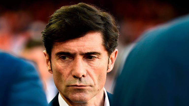 Marcelino has led Valencia to a Champions League spot during his first season a the club