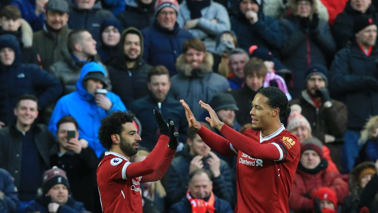 EPL: Salah scores to equal Drogba Premier League record