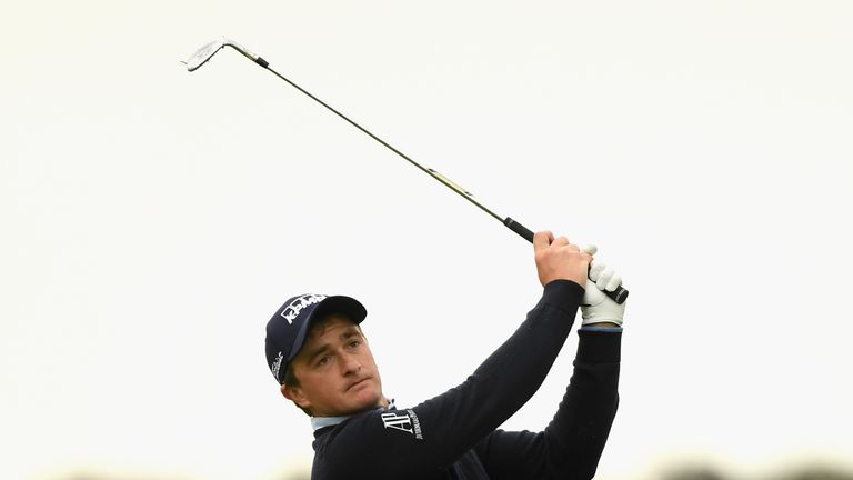 Paul Dunne shares the lead with Marc Warren