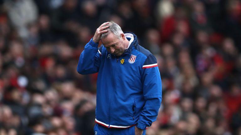 Paul Lambert has six games left to save Stoke City