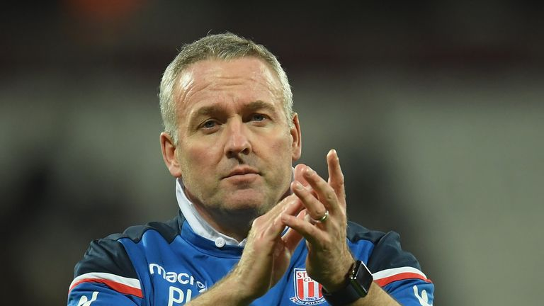 Paul Lambert insists he is proud of Stoke's players