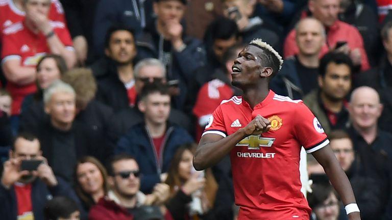 Paul Pogba scored the 2-1 win over Arsenal