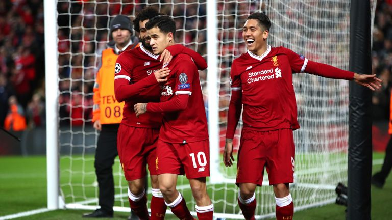 Philippe Coutinho could receive a Champions League winner's medal if Liverpool win the competition