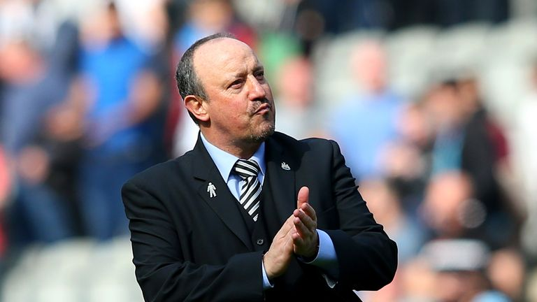 Newcastle moved onto 41 points after victory over Arsenal last month