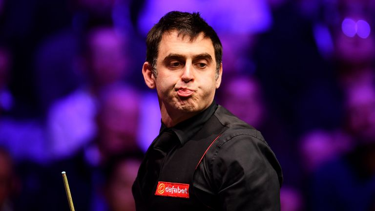 Ronnie O'Sullivan has vowed to continue playing snooker until at least the age of 50