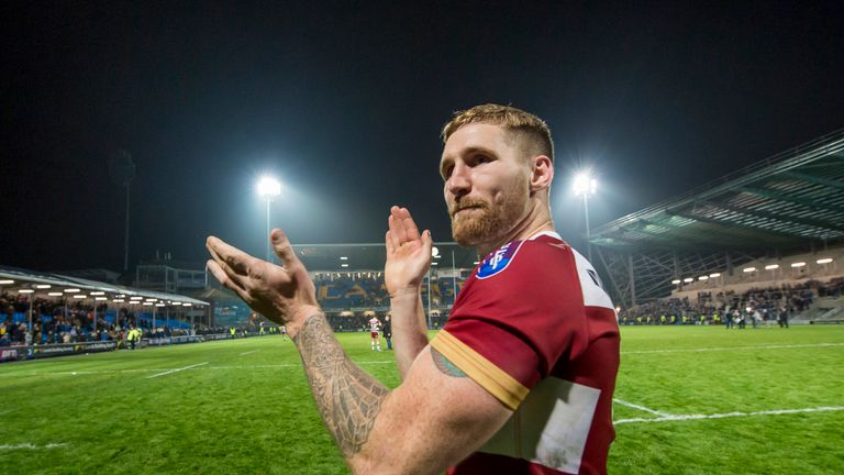 Sam Tomkins is moving to Catalans Dragons at the end of this season