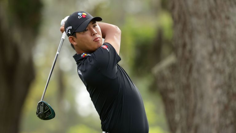 Kim narrowly missed out on a third PGA Tour victory