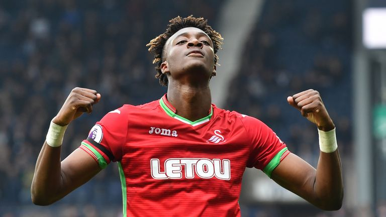 Tammy Abraham's leveller was his first Premier League goal since October