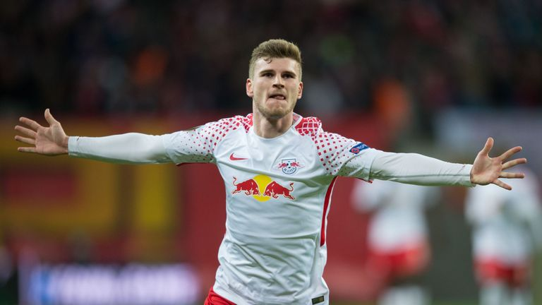 Timo Werner scored the only goal for Red Bull Leipzig against Marseille