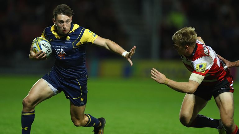 Worcester wing Josh Adams is one of three Premiership-based players released by Wales