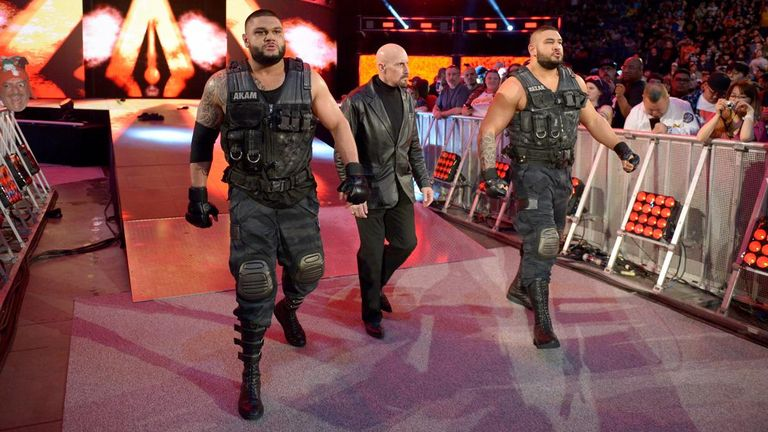 Former NXT tag team champions Authors of Pain made their Raw debut last week