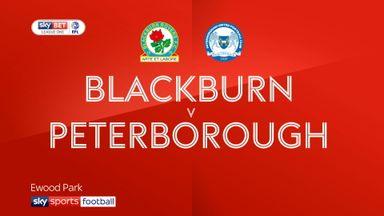 Blackburn 3-1 Peterborough